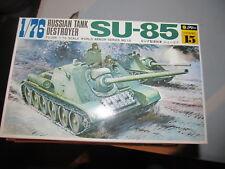 Fujimi Russian Tank Destroyer SU-85 model kit SEALED CONTENTS 1:76