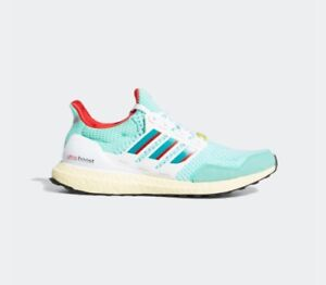 New Adidas UltraBoost DNA 1.0 Shoes Sneaker (H05264) - Mint/ Green/ White