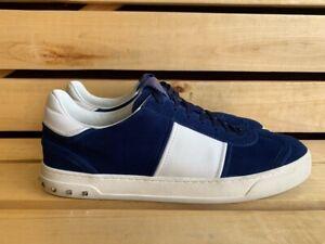 VALENTINO GARAVANI Blue Sneakers Men Shoes Sz. 46 UK 12 US 13