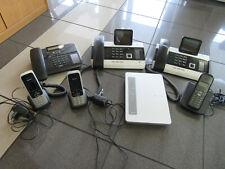 Telefonanlage Eumex 800 ISDN mit 2x Tischtelefon und 3x Mobiltelefon