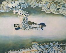 Arnd Maibaum: Baia de Rio de Janeiro - Orig. Farbradierung, signiert, nur 30 Ex.