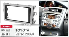 Car Stereo Fascia Dash Panel 2 Din Frame Trim Kit for TOYOTA Verso 2009+ 11-171