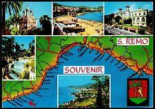 AD1322 Imperia - Provincia - Sanremo - Souvenir - Vedute - Illustraz. geografica