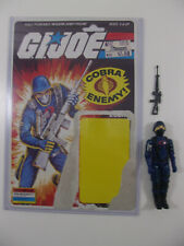 Vintage Cobra GI Joe ARAH 1983 Cobra Soldier V1.5 Complete Full uncut File Card