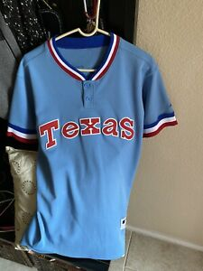 Majestic Authentic Adrian Beltre TEXAS RANGERS Pullover Throwback Jersey-Size 40