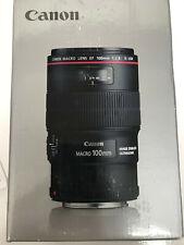 Canon 100 mm/F 2,8L Lente Macro IS USM