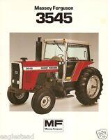 MASSEY FERGUSON MF 4880 4840 4800 4WD TRACTOR COLOR SALES BROCHURE