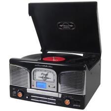 Groov-e gvtt 03/BK Centro musicale con lettore VINILE RECORD/CD/USB & Radio FM-NERO