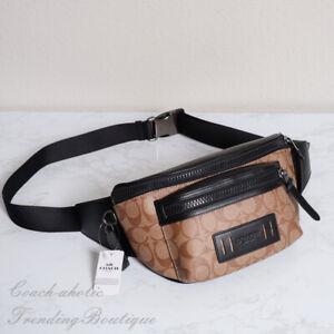 NWT Coach F78727 Mens Terrain Belt Fanny Crossbody Bag Signature MSRP $298