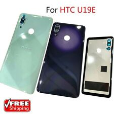 For HTC U19E Rear Back Glass Housing Door Battery Cover Replacement &Camera Lens