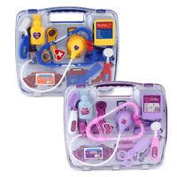 Kids Educational Pretend Doctor Case Toy Set Child Medical Kit Doctor Case BU