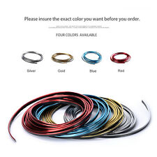 5M Flexible Chrome Trim for Car Interior Exterior Moulding Strip Decorative Line