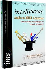 IntelliScore Ensemble MP3 to MIDI Converter (boxed)