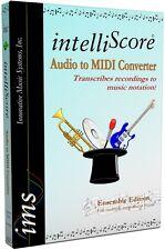 IntelliScore Ensemble Mp3 to Midi Converter (boxed)