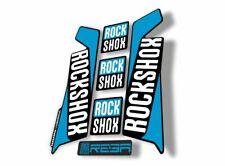 Rock Shox Reba 2016 Fork Decal Mountain Bike Cycling Sticker Adhesive Blue