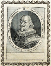 c1650 Georg Braunschweig-Calenberg General Kupferstich-Porträt