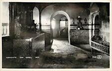 1930s RPPC Postcard Convento San Angel Mexico City El Carmen Monastery Interior
