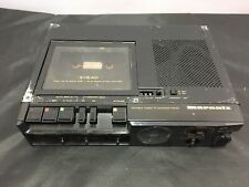 Marantz Pmd221 3 head professional portable cassette tape player recorder As-Is
