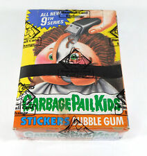 1987 Topps GPK Garbage Pail Kids Series 9 Canada Box +25 Cents (48) BBCE X-Out