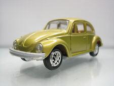 Diecast Gama Mini Volkswagen 1302 Beetle 1:43 No.898 Gold Good Condition
