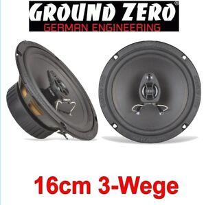 Ground Zero 13 cm Front Voiture Haut-parleur Compo pour Porsche 964-1988-1993