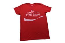 Coca-Cola Mens Foreign Print Coke Shirt New M, L, XL, 2XL