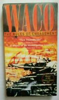 WACO RULES OF ENGAGEMENT NEW AND SEALED VHS NTSC M/15+ 1997 RELEASE