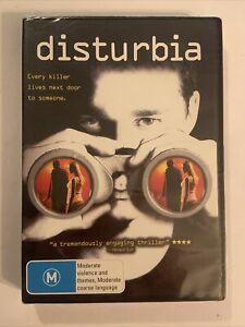 Disturbia (DVD, 2007) Shia La Beouf, Carrie-Ann Moss, David Morse - New/sealed