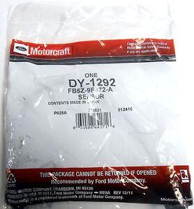 NEW 5-WIRE OXYGEN SENSOR;  MOTORCRAFT# DY-1292; FORD#FB5Z-9F472-A, FB5T-9Y460-AA
