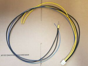 FOR ALPINE SWE-1000 ACTIVE SUBWOOFER SUB 6 PIN 3 WIRE POWER PLUG CABLE LEAD ATX.