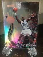 *Rare* 1997-98 Stadium Club Royal Court *FOIL* #RC2 Karl Malone..