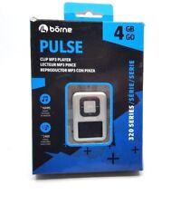 """Borne Pulse 4Gb Mp3 Player (Mp320-4Sl) - Silver - Newâ""""¢"""