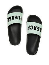 Medium (B, M) Victoria's Secret Solid 8 Slippers for Women