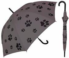 "48"" Puppy Dog Paw Print, Auto-Open Umbrella - RainStoppers Rain/Sun UV Fashion"