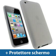 Chiaro Custodia Skin per Apple iPod Touch 4G 8/16/32/64GB Silicone Case Cover
