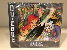 sega mega-cd THE ADVENTURES OF BATMAN & ROBIN PAL 1995 sega SEALED very RARE !!!