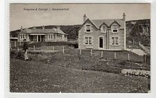 BUNGALOW & DUNRIGH - BLACKWATERFOOT: Isle of Arran postcard (C15523)