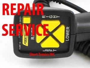 REPAIR SERVICE FOR Fish Stik Fisher Western plow 6 Pin controller