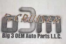2002-2010 Chrysler PT Cruiser Chrome Nameplate Emblem new OEM 5303581AB