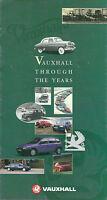 VAUXHALL CORSA ASTRA CAVALIER 90TH ANNIVERSARY BROCHURE 1993 V11181 05/93 (UK)