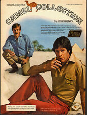 1980 Vintage ad for Camel Collection by John Henry/Sexy Male Models (070113)