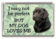 "Labrador Retriever No.2. Fridge Magnet ""I may not be perfect ....."" by Starprint"