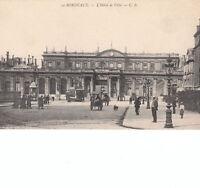 CPA BORDEAUX L' HOTEL DE VILLE