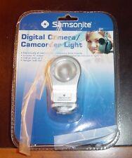 Samsonite Camera/Video Camcorder Light with accessoriy shoe mount
