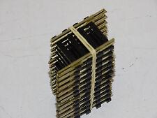 ROCO  ( 4558 ) 12 RAILS DROITS EN MAILLECHORT LONGUEUR 26,5mm  HO