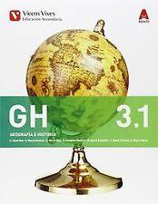 ^^(15).GEOGRAFIA HISTORIA 3ºESO.(BIMESTRAL) AULA 3D. ENVÍO URGENTE (ESPAÑA)