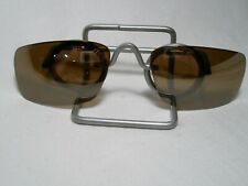 New Original Oakley Square Wire Brown Polarized Sunglass Replacement Lens  ok2c