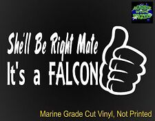 FALCON gt ute accessories funny Car Stickers RIGHT 200mm for Ford