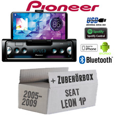 Pioneer autoradio para Seat Leon 2 1p vfl Bluetooth Spotify android iphone set