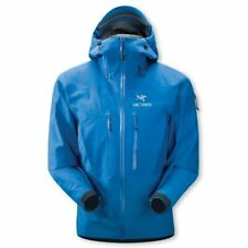 Arcteryx Alpha SV (BRAND NEW IN BAG) Goretex Shell Jacket Mens Large Macaw Blue